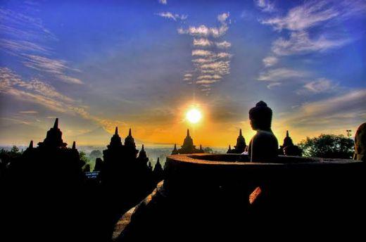 Sisi-sisi Keindahan Candi Borobudur