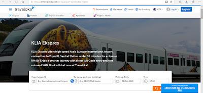 KLIA Transit Ticket Booking