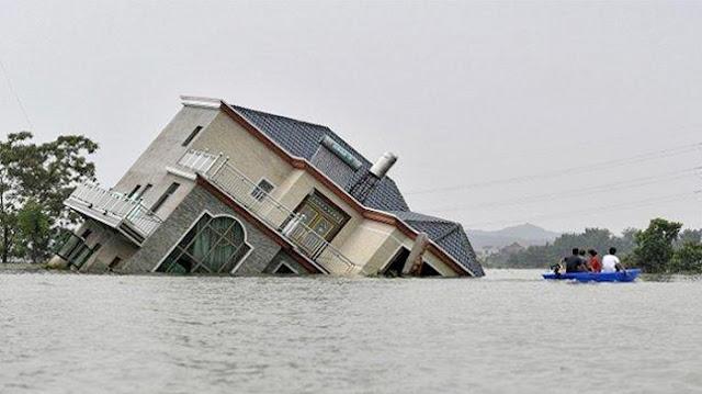 Usai Dihantam Virus Corona, Wuhan Diterjang Banjir Dahsyat, Pertanda Apa Lagi Ini?