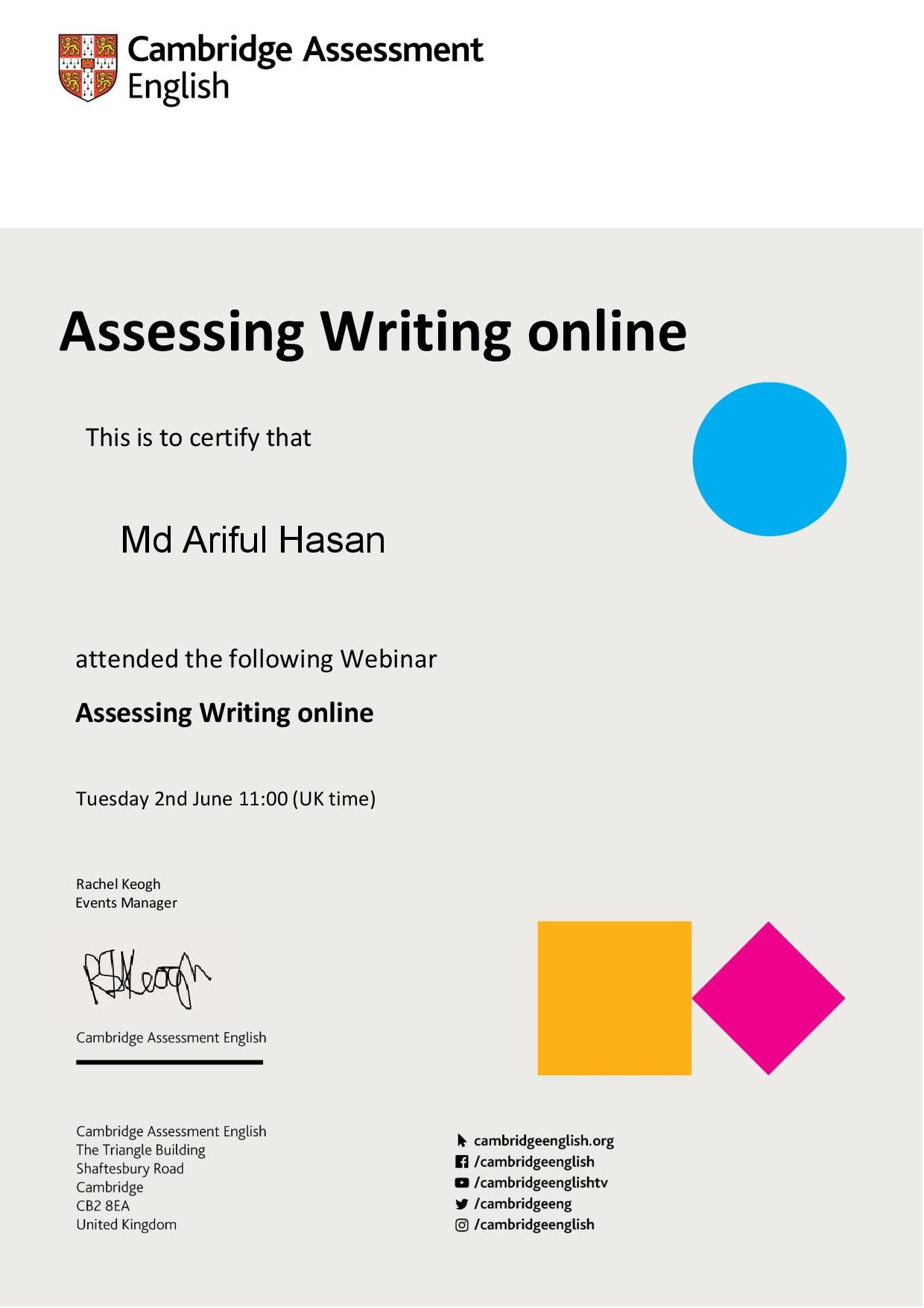 Creative who am i essays