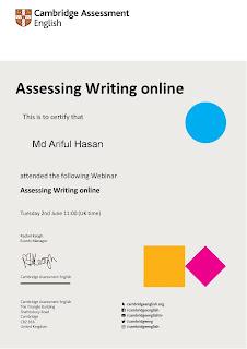 Assessing Writing Online | Cambridge Assessment English