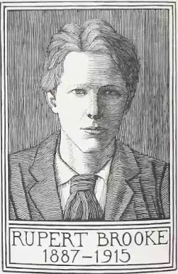 Rupert Brooke is the romancer of the ordinary and the familiar and has invested his domestic catalogue with significance and beauty.
