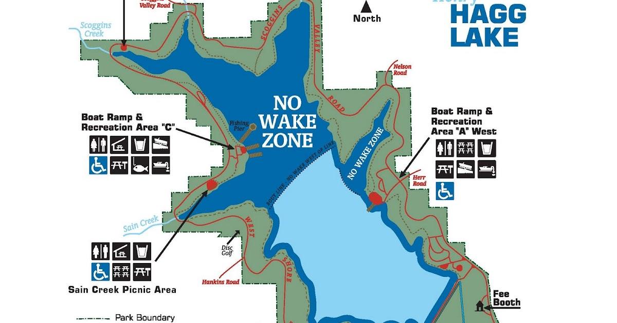 henry hagg lake map Fishing 2011 Henry Hagg Lake henry hagg lake map