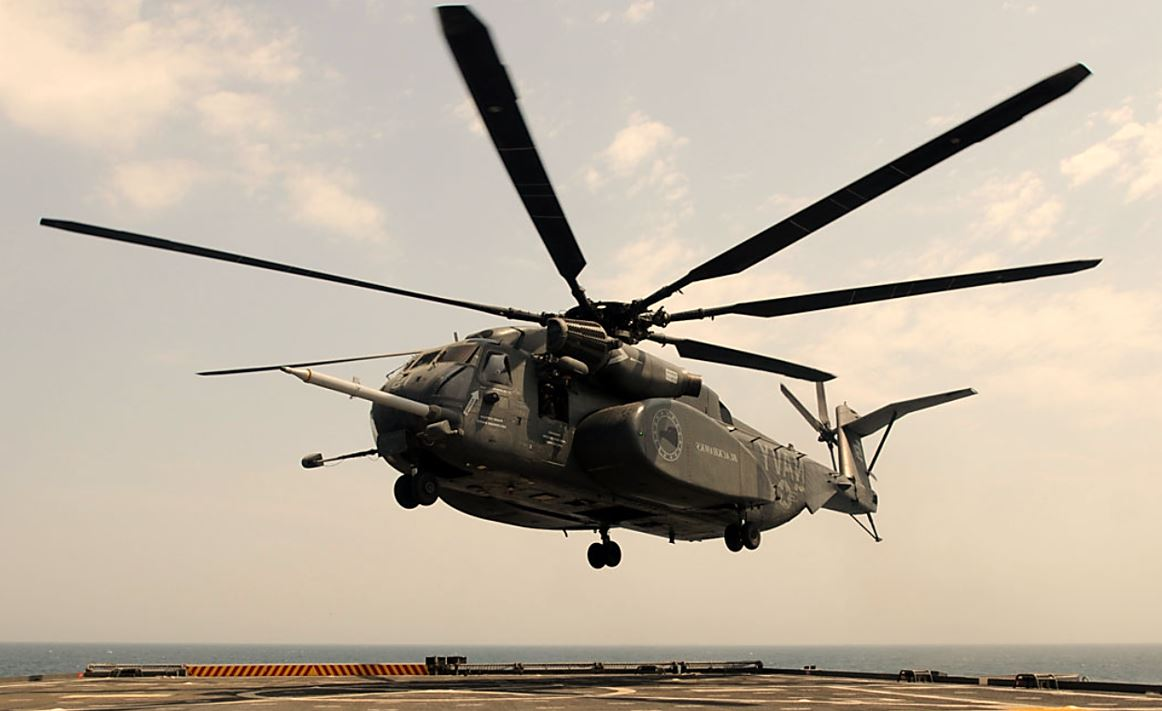 Sikorsky MH-53 Sea Dragon | Minesweeping helicopter