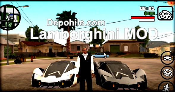 GTA SanAndreas Mobil Lamborghini Araba Modu İndir, Kurulum