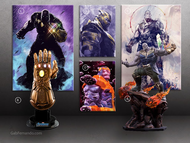 Marvel Thanos and the Infinity Gauntlet