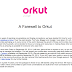 Orkut - Farewell Message