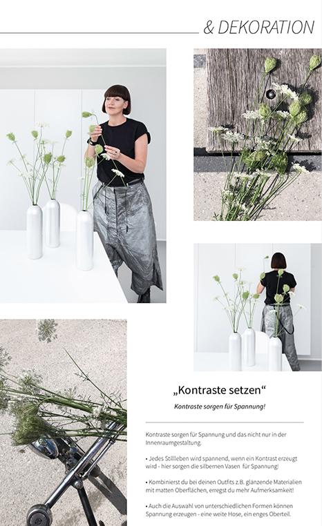 Mode oder Dekoration - Kontraste sorgen hier für Spannung - Mode von RUNDHOLZ