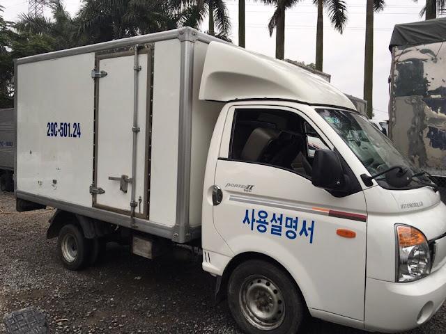 Bán xe tải Hyundai 1 tấn cũ ở Bắc Giang