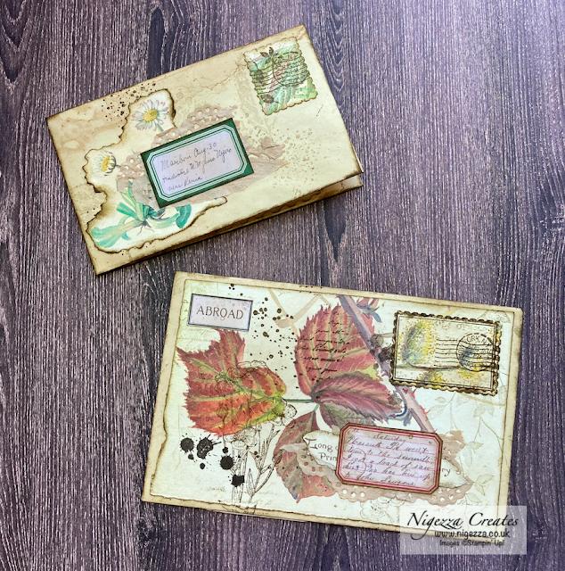 Envelopes For My Edith Holden Journal