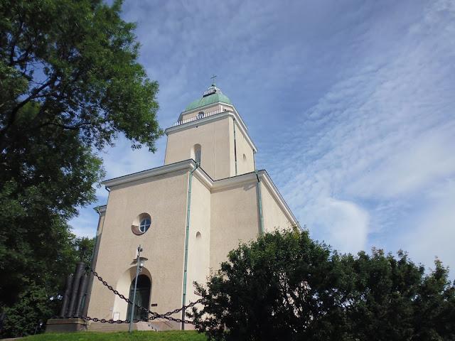 Iglesia de Suomenlinna (Fortaleza de Suomenlinna) (Helsinki) (@mibaulviajero)