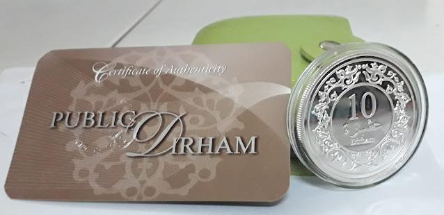 10 Dirham Public Gold