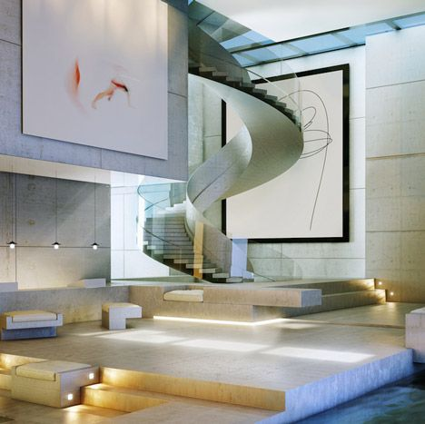 stylish staircase design