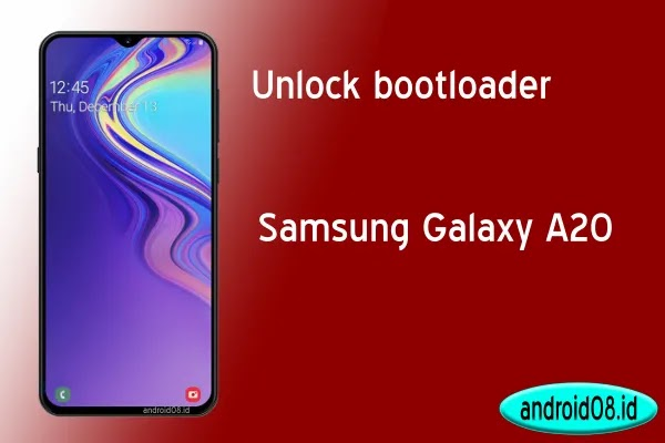 Unlock Bootloader Samsung Galaxy A20