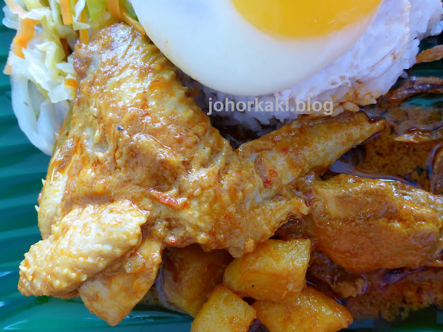 Nasi-Lemak-Johor-Jaya-Oktober-Kopitiam-十月餐厅