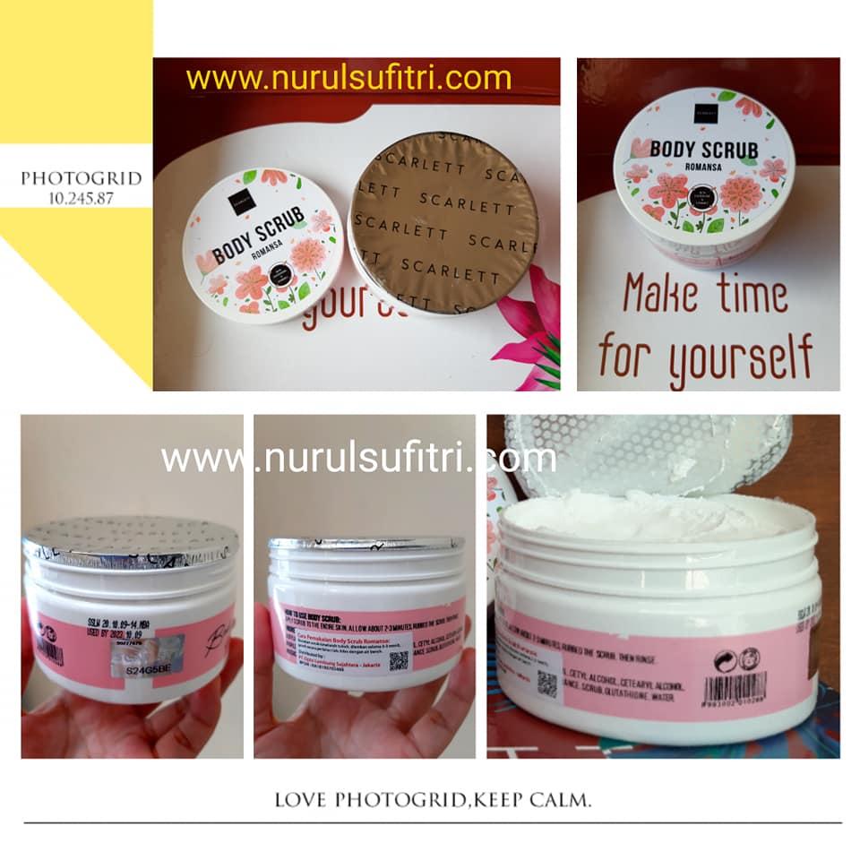 Review Scarlett Whitening Body Care Scrub Shower Lotion Nurul Sufitri Travel Lifestyle Blog Beauty