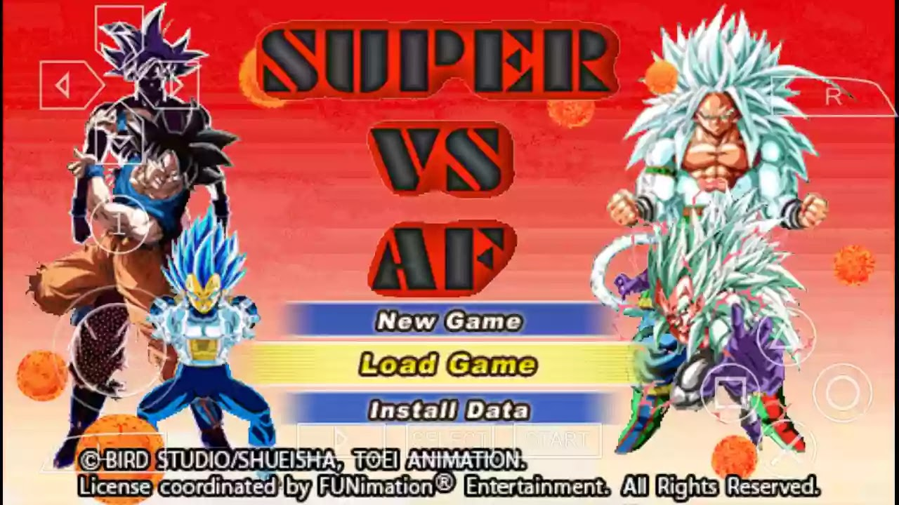 DBZ TTT MOD Goku Ultra Instinct PSP ISO