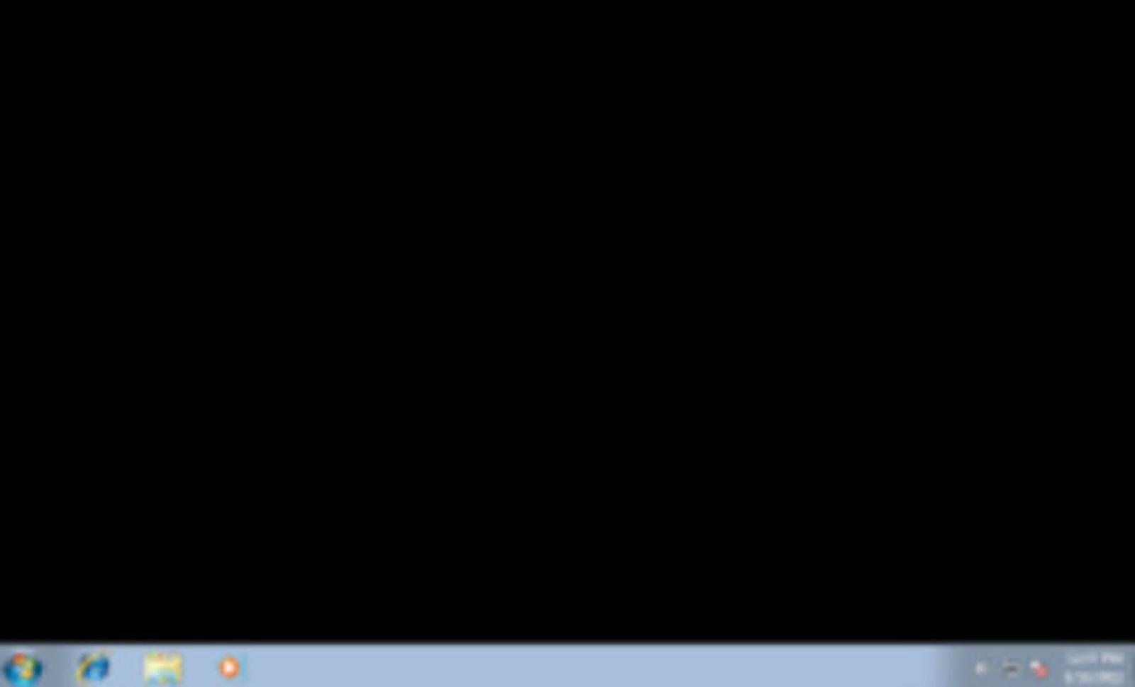 حل مشكلة الشاشة السوداء في ويندوز 7 بثمان طرق