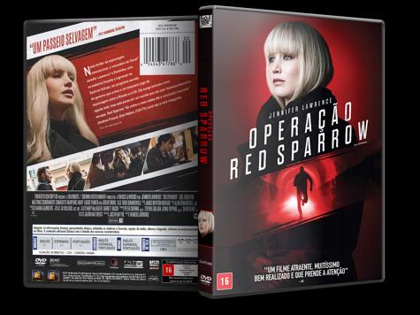 Capa DVD Operação Red Sparrow