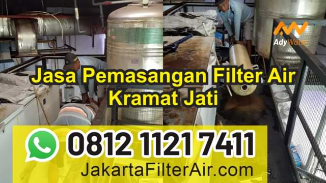 jasa pemasangan filter air jakarta timur