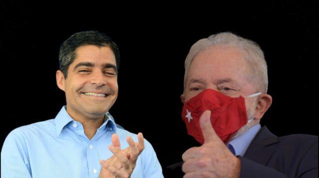 Na articulação Lula tem descarte a Wagner e apoio a ACM Neto
