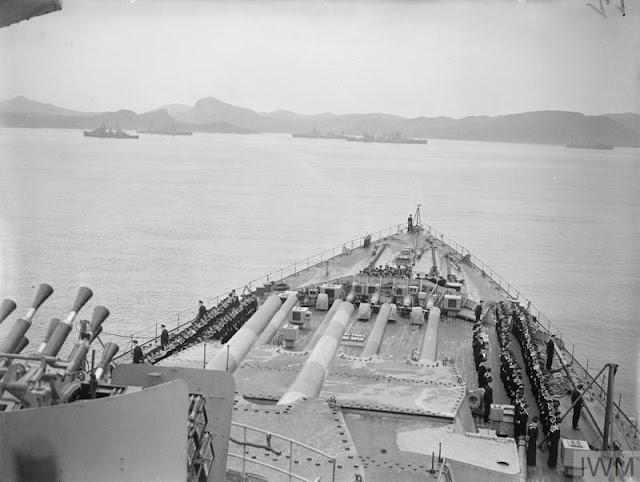 HMS Prince of Wales enters Placentia Bay, 9 August 1941 worldwartwo.filminspector.com