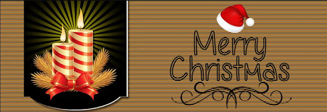 Christmas Candles Facebook Cover