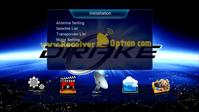 DRAKE 990 PLUS 1506TV 512 4M NEW SOFTWARE 12 MAY 2021