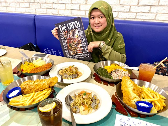The Best Fish & Chips in Town @ Fish & Co, Toppen, Johor Bahru