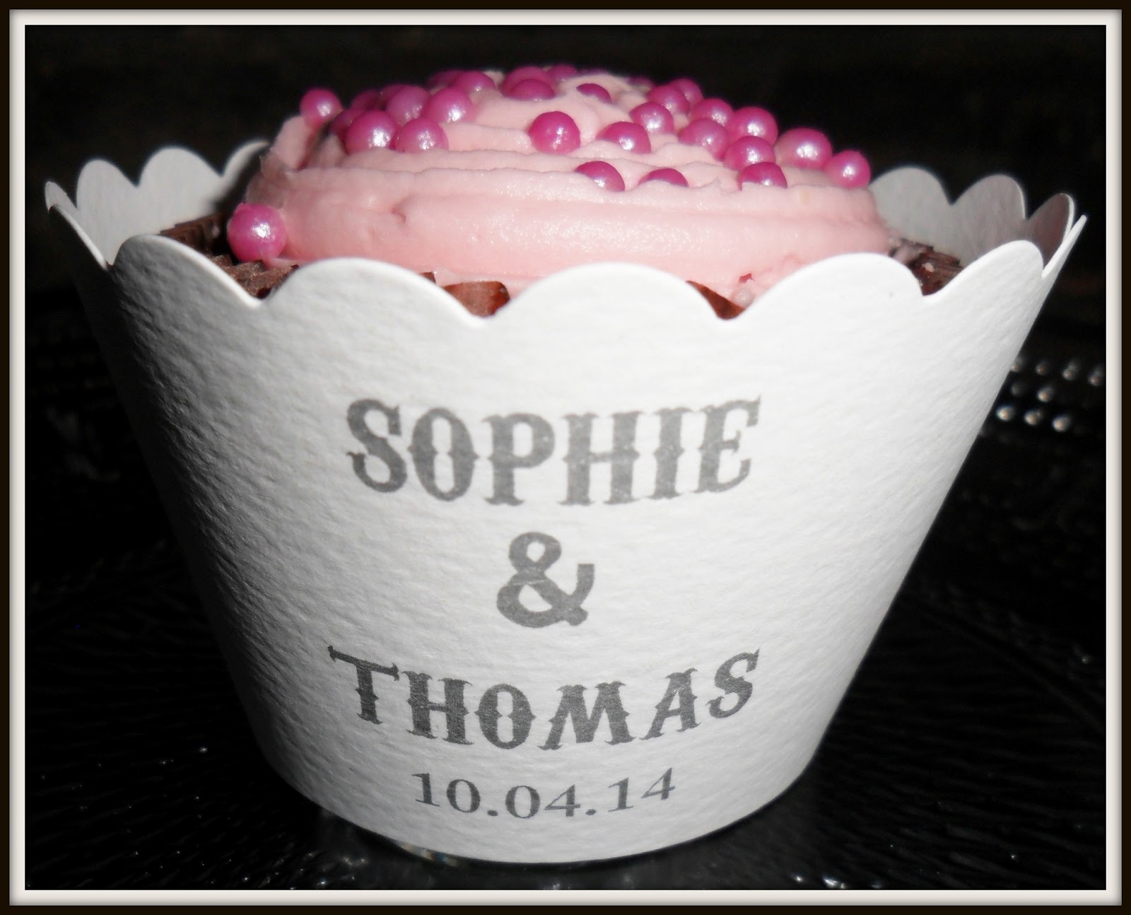Personalized Cupcake Wrappers by Paper Themes