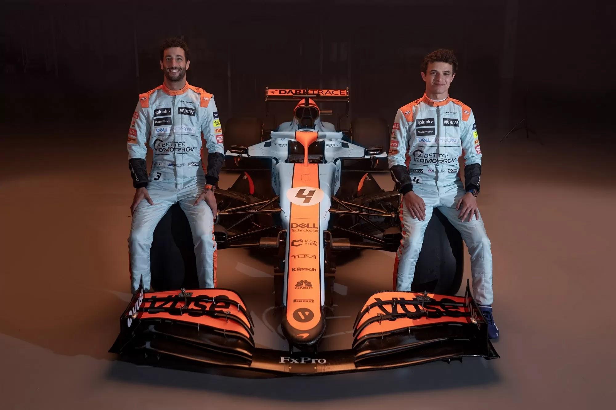 Sainz diz que Norris e McLaren devem estar entusiasmados com as perspectivas de Baku com o 'foguete' de um carro