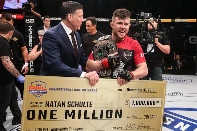 PFL One Million Dollar Winners