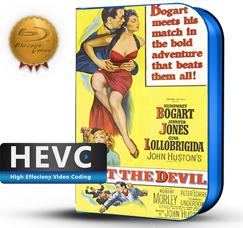 Beat the Devil (1953) 1080P HEVC-8Bits BDRip Ingles(Subt.Esp)(Aventura, Comedia)