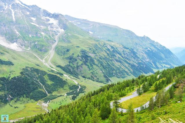 Carretera del Grossglockner en Austria