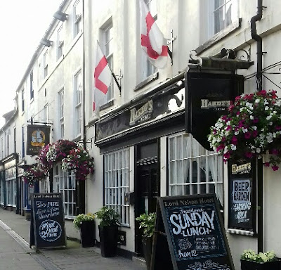 The Lord Nelson Hotel in Brigg Market Place