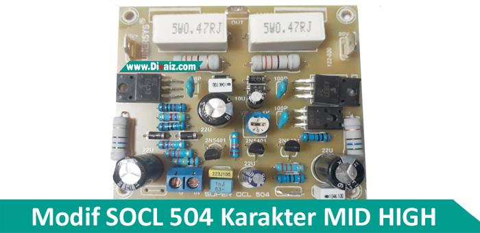 Cara Modif SOCL 504 Karakter Mid High
