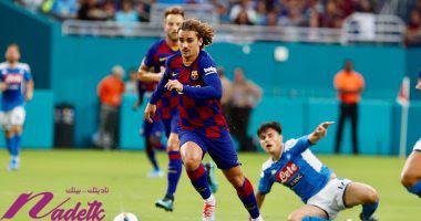 شاهد أهداف مباراة برشلونة ضد نابولي الودية