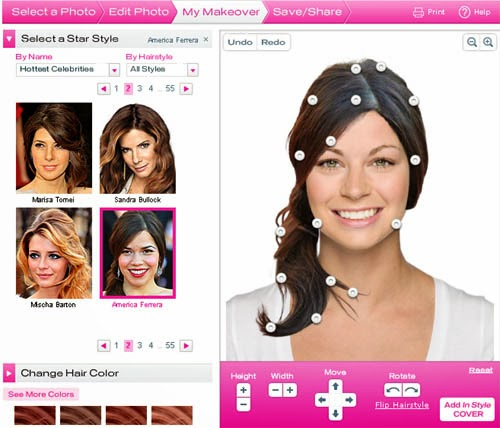 Astounding 10 Best Beauty Makeover Applications For Ios Android Amp Windows Short Hairstyles For Black Women Fulllsitofus