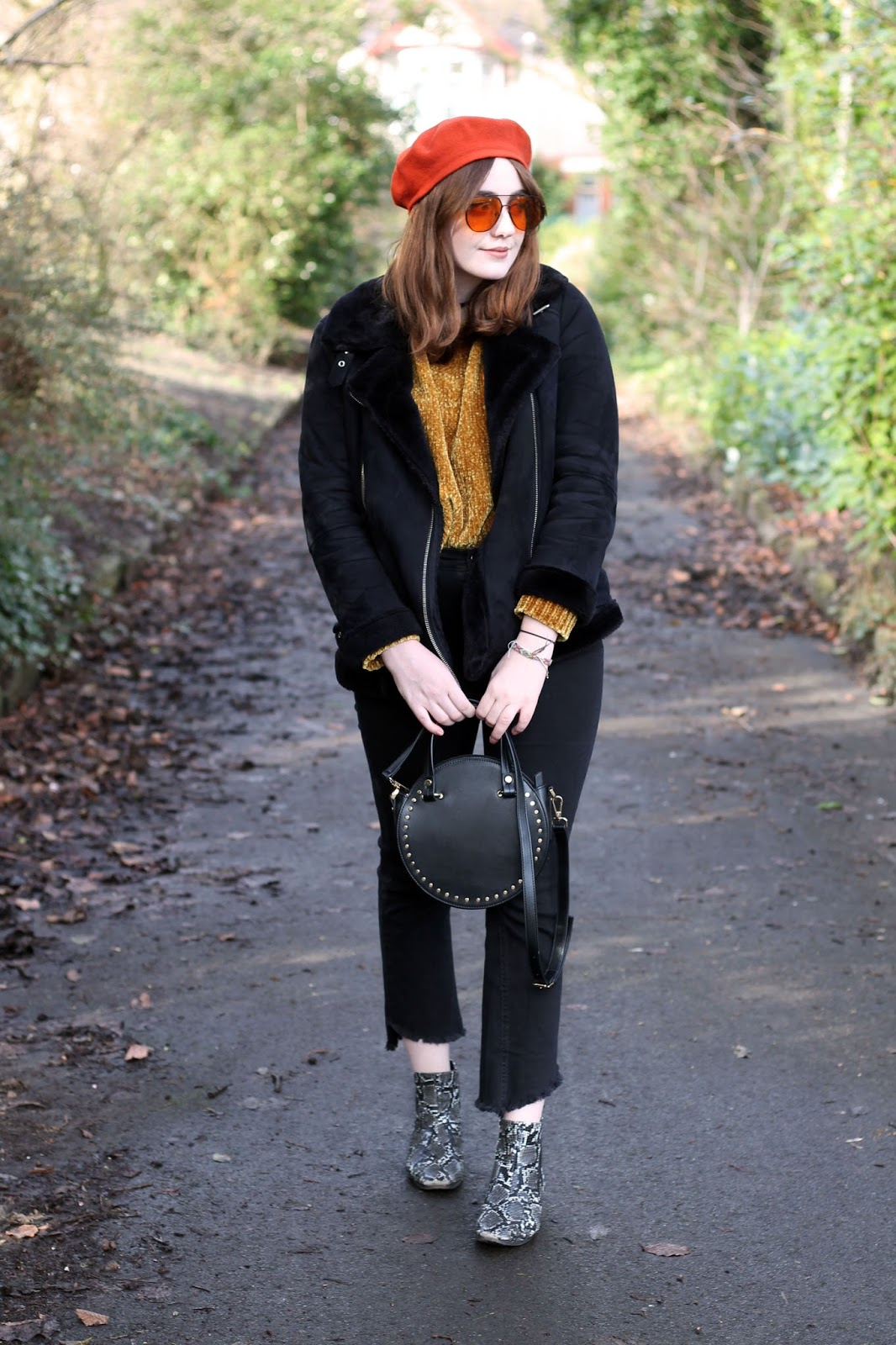 70s inspired outfit on Liverpool fashion blogger