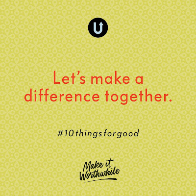 10 Things for Good, UPPERCASE, Janine Vangool, #10thingsforgood