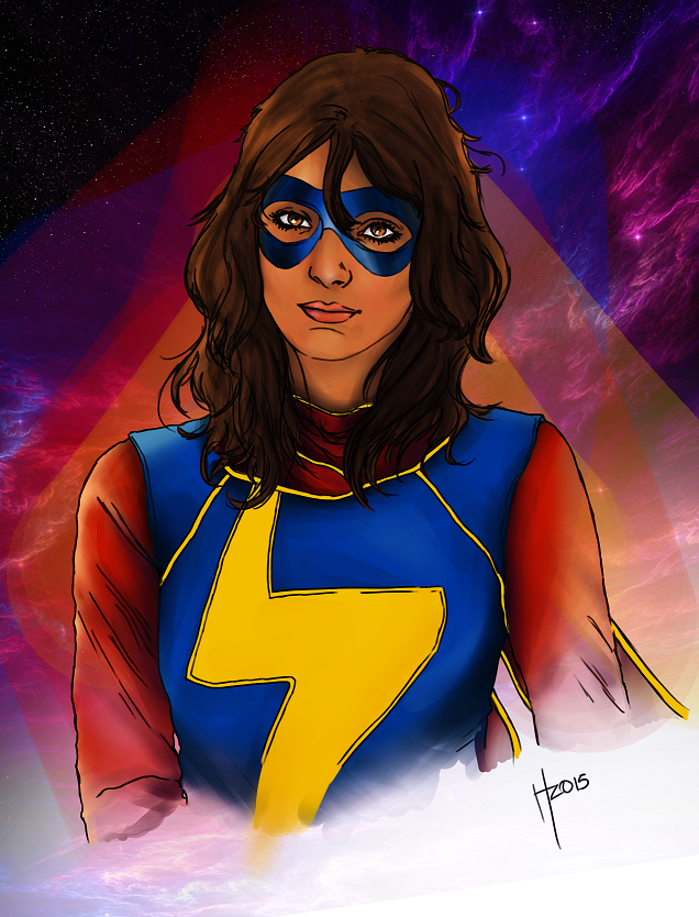 the life and personality of the superhero kamala kahn or rather ms marvel The first issue introduces us to kamala and her life in of kamala as relatable and full of personality rather than peter to i am ms marvel.