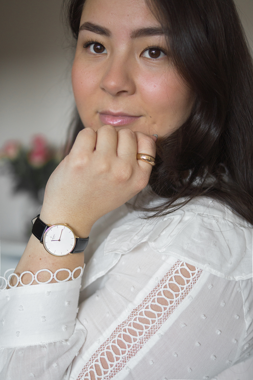classic-style-black-leather-watch-Barely-There-Beauty-blog
