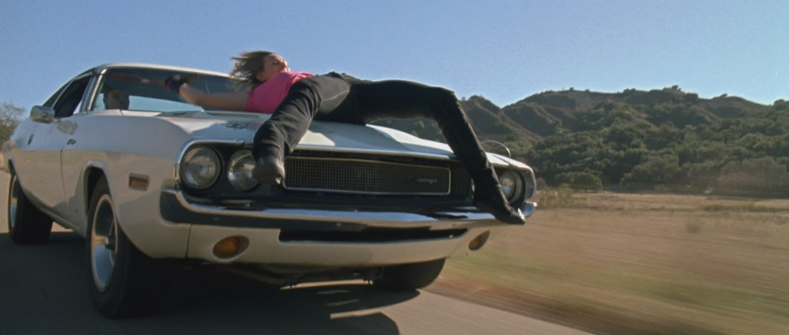 Vanishing Point Car: DESIGN CONTEXT: YOUR CHOICE// Death Proof
