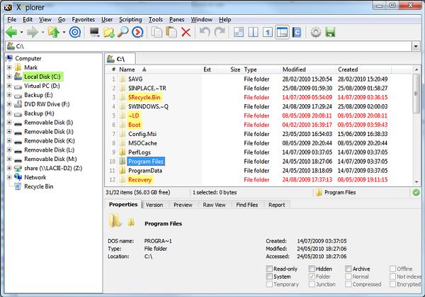 تحميل برنامج قوي ومتكامل لإدارة الملفات XYplorer 20.00.0000