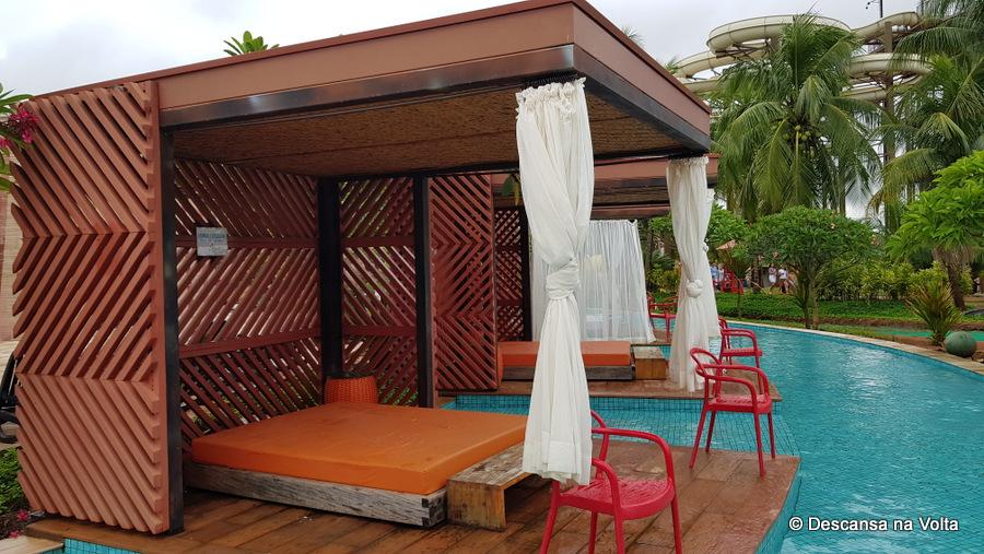 Cabana VIP Hot Beach Olímpia