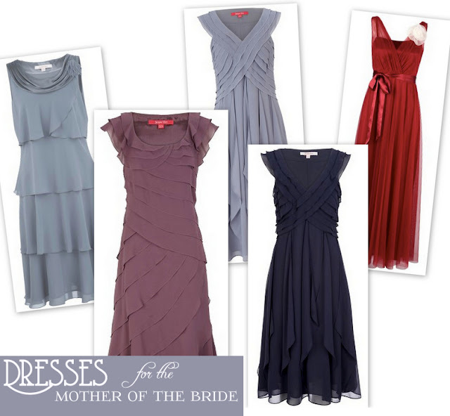 stylish mother-of-the-bride dresses by jacques vert via oh lovely day