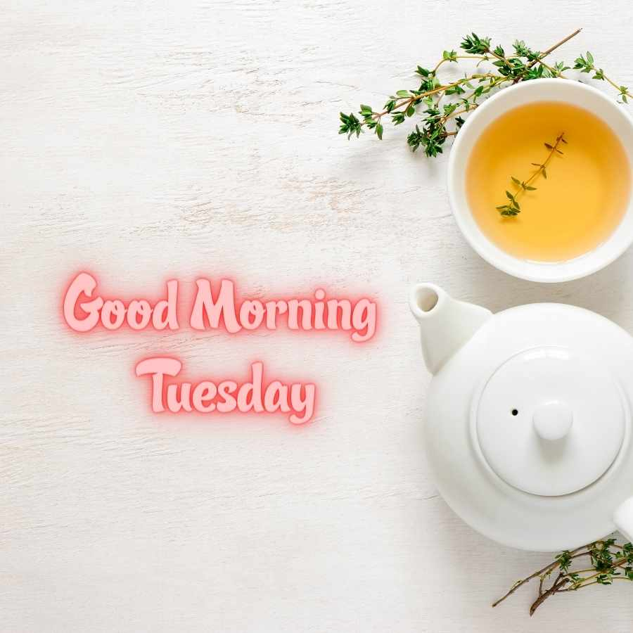 good morning tuesday images in hindi