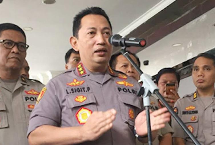 Komjen Pol Listyo Sigit Prabowo, Calon Tunggal Kapolri Pilihan Jokowi