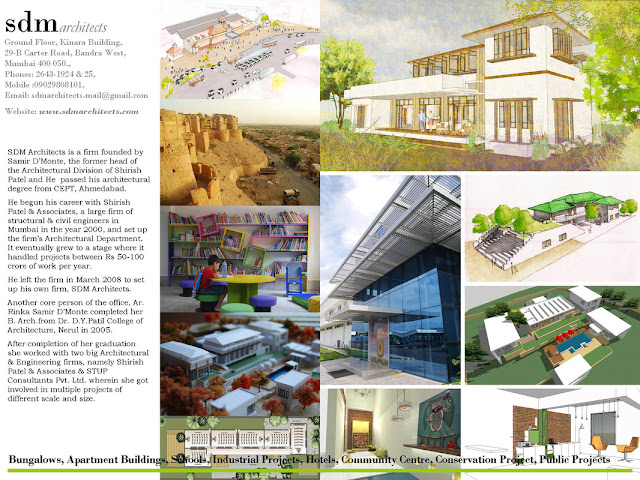 SDM Architects Brochure