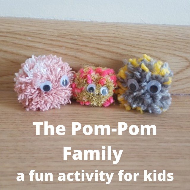 The Pom-Pom Family - a fun activity for kids